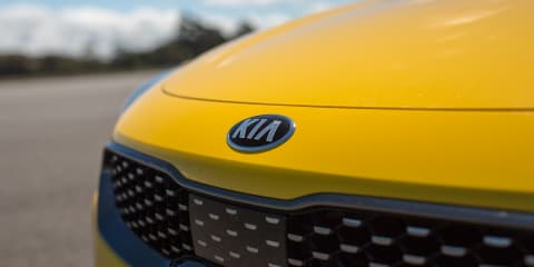 Kia Stinger: Sunset Yellow resprays halfway done