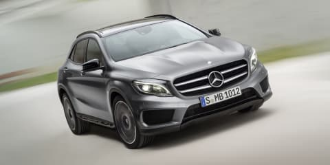 Mercedes-Benz GLA-Class here April from $47,900