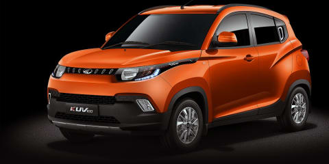 Mahindra KUV100 compact SUV revealed
