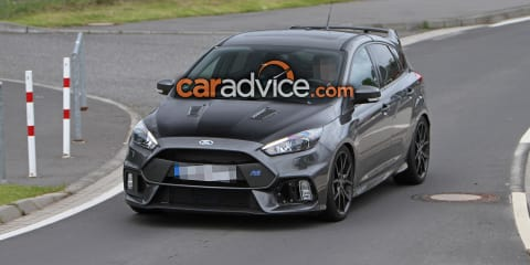 2017 Ford Focus RS500 spied testing - UPDATE