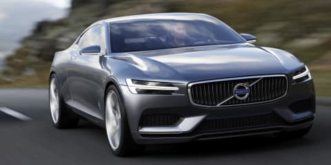 Volvo Concept Coupe previews new design language
