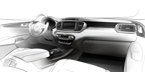 2015 Kia Sorento interior teased