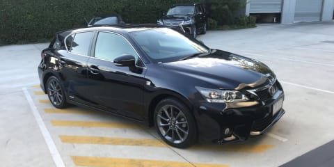 2011 Lexus CT 200h F Sport review