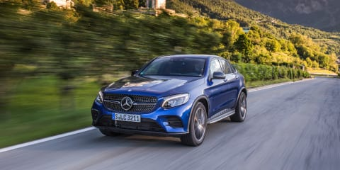 2016 Mercedes-Benz GLC Coupe Review