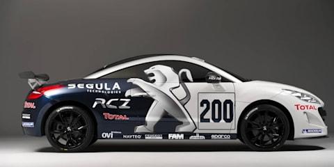 Peugeot RCZ coupé enters the Nurburgring 24 Hour race