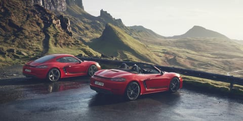 Porsche 718 T: Boxster, Cayman gain pared-back variants