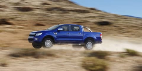 New Ford Ranger undergoing emissions testing: video