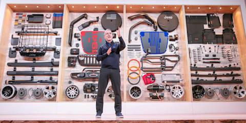 2018 Jeep Wrangler: Mopar parts teased at SEMA show