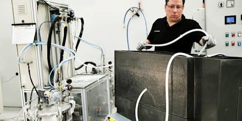 New Lamborghini Carbon Fibre Research Centre