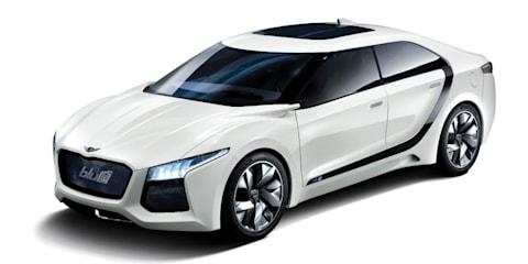 Hyundai Blue2 Concept unveiled at Seoul Motor Show