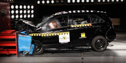 Mercedes-Benz B-Class achieves highest ever ANCAP safety score