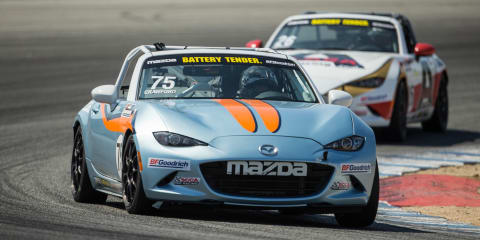 2016 Mazda MX-5 Cup Global Invitational: no podium, but at least a chequered flag