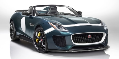 Jaguar F-Type Project 7: First product of Special Operations team revealed before Goodwood