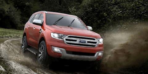 2015 Ford Everest revealed