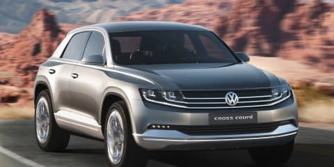 Volkswagen Cross Coupe Concept SUV unveiled