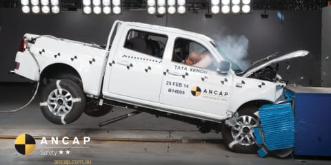 Tata Xenon earns two-star ANCAP safety rating