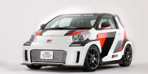 Toyota iQ Racing Concept by GRMN at Tokyo Auto Salon