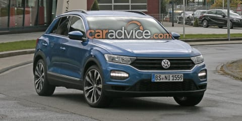 Volkswagen T-Roc R spied at the Nurburgring