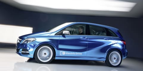Mercedes-Benz B-Class goes all-electric for Paris
