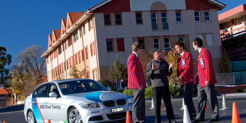 BMW driver training goes to school