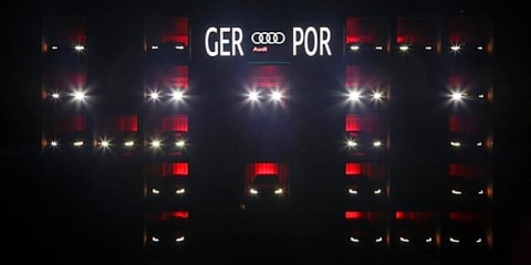 Audi gets World Cup fever : builds giant LED scoreboard