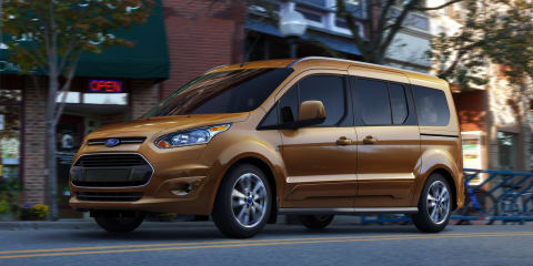Ford Transit Connect Wagon: all-new seven-seat van due in 2013