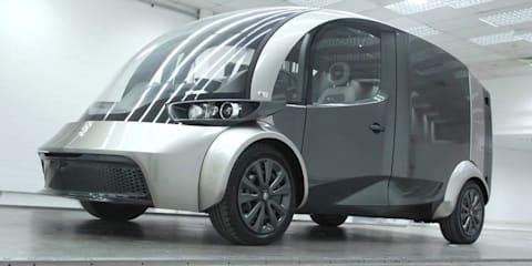 Liberty Electric Cars reveals Deliver electric van