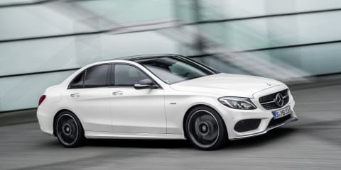 Mercedes-Benz C450 AMG revealed : Sub-C63 range-opener with twin-turbo V6 power