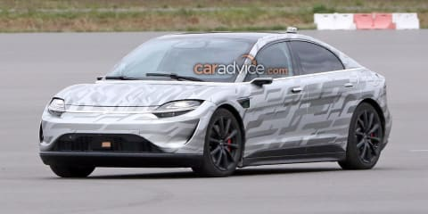 Sony's new Vision-S electric car spied testing