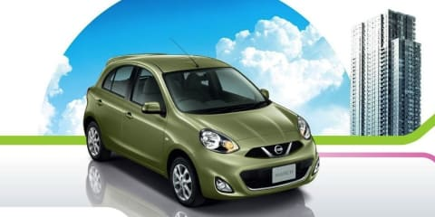 Nissan Micra facelifted for 2014