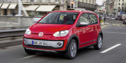 Volkswagen Cross Up!: chunky city car revealed