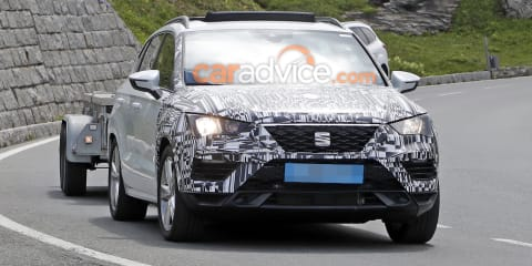 2020 Seat Ateca spied