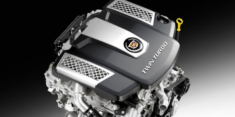 Cadillac CTS to debut new twin-turbo engine, eight-speed auto at New York