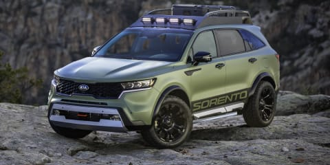 Kia Sorento Yosemite and Zion concepts unveiled in the US