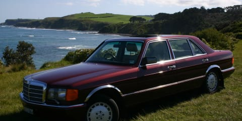 1989 Mercedes-Benz 560 SEL Review Review