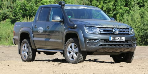 2021 Volkswagen Amarok and Crafter: Seikel off-road accessory range due second half of 2021
