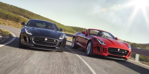 Jaguar F-Type Australian range updated with manual, all-wheel-drive models