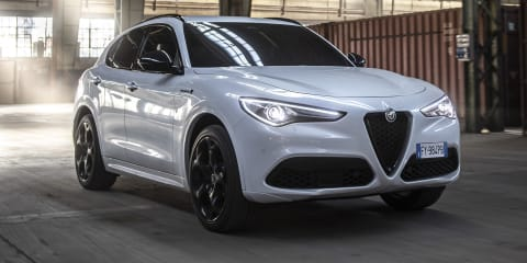 2021 Alfa Romeo Stelvio Veloce Ti unveiled for Europe