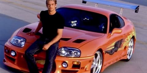Fast & Furious Toyota Supra movie car sets auction record