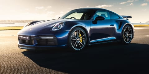 2021 Porsche 911 Turbo S review: Launch Control... on a Sydney Airport runway