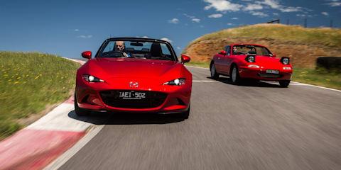 Mazda MX-5 Old v New Comparison - First-generation NA v fourth-generation ND