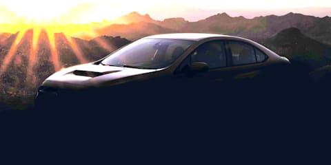 2022 Subaru WRX teased, Australian launch due early 2022