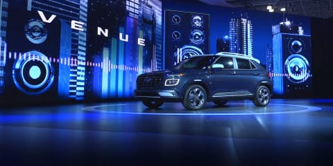2019 New York motor show: Hyundai Venue city SUV unveiled