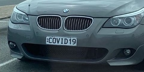 BMW with COVID19 number plates 'abandoned' in Adelaide