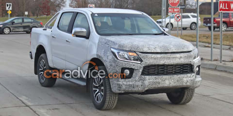 2020 Holden Colorado spy photos show an all-new model is still years away