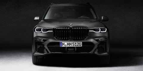 2021 BMW X7 Dark Shadow Edition revealed