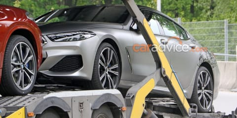 2020 BMW 8 Series Gran Coupe spied