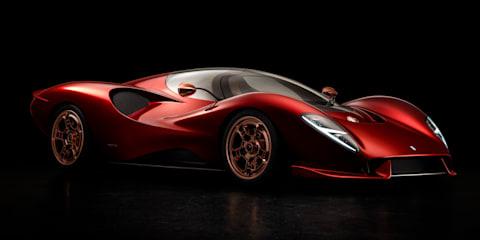 De Tomaso P72 unveiled