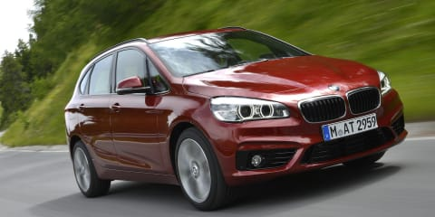 BMW 2 Series Active Tourer front-drive MPV priced from $44,400
