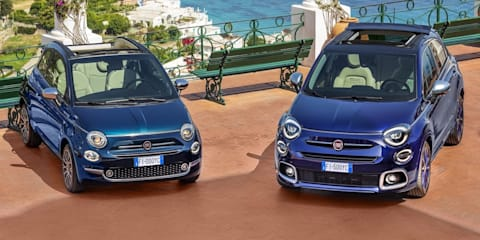 2021 Fiat 500X and 500C Yachting convertibles revealed